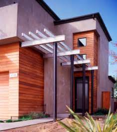 Wooden Door Awning Entry Trellis