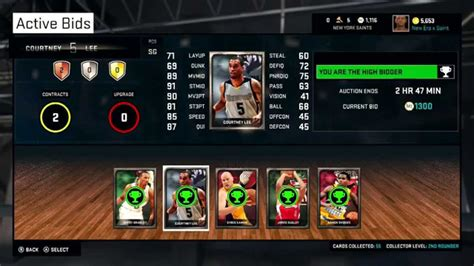 how to buy a auction house nba 2k15 myteam how to make a killer team w auction house youtube