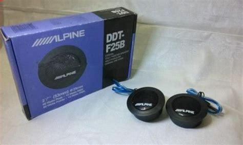 Tweeter Alpine Ddt F25b buy cheap cheap 1 pair tweeter alpine ddt f25b