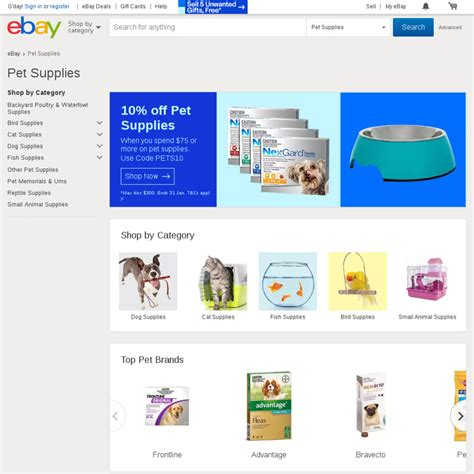 ebay ozbargain 10 off pet supplies minimum spend of 75 ebay ozbargain