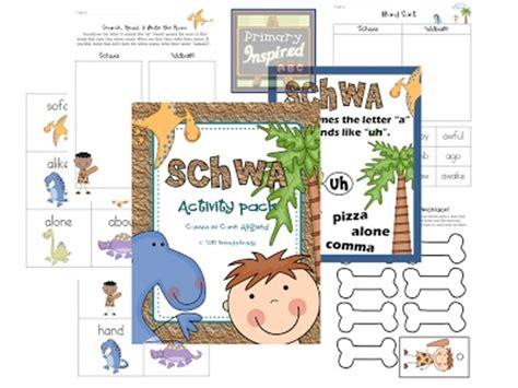 schwa pattern words 8 best images about schwa on pinterest activities maze