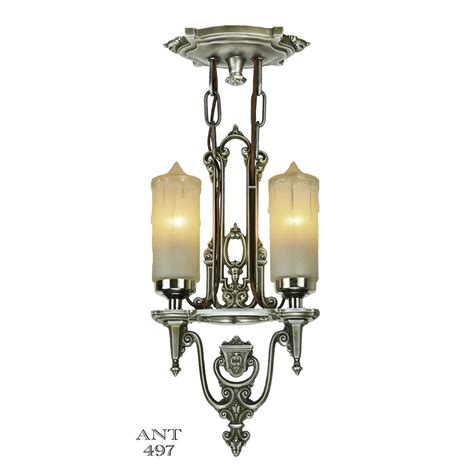 Pendant Lighting For Sale Deco Antique Candle Style Ceiling Pendant Light By Riddle Ant 497 For Sale Antiques