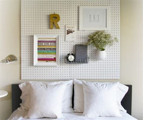 pegboard headboard diy pegboard headboard kid crave