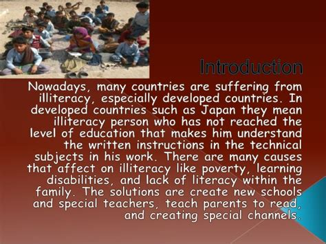 Illiteracy In India Essay by Illiteracy Problem Essay
