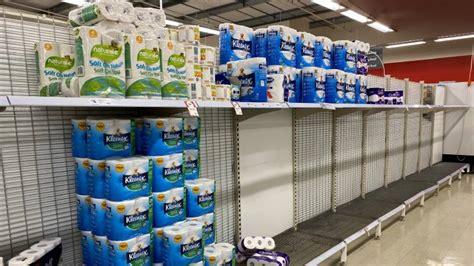 toilet paper limits imposed  australia  stop virus panic buying
