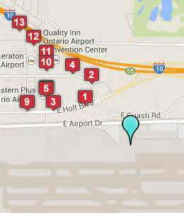 ontario airport california map hotels near ontario airport ont ontario ca