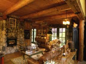 Rustic Log Home Decor by Log Cabin Interior Design Ideas Rustic Cabin Interior