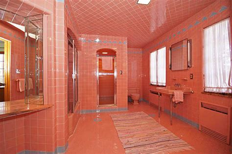 pink and blue bathroom 1950 time capsule house with 7 vintage bathrooms grosse