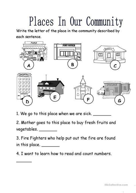 Community Worksheets