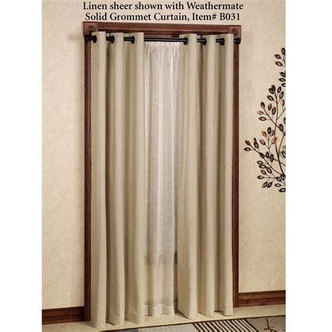 curtain grommets weathervane thermasheer tm curtain panels