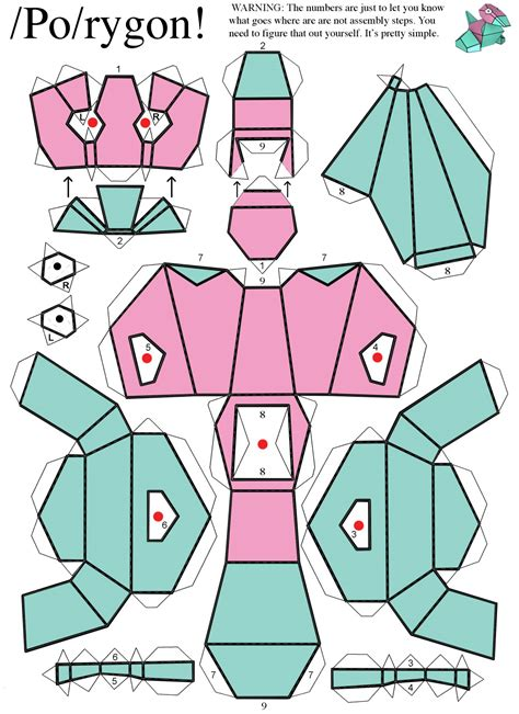 Origami Cut Outs - anime papercraft templates anime papercraft template