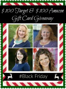Amazon Black Friday Giveaway - 100 target and 100 amazon gift card giveaway