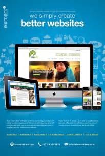 web design ad published in dubai based pet magazine pet me