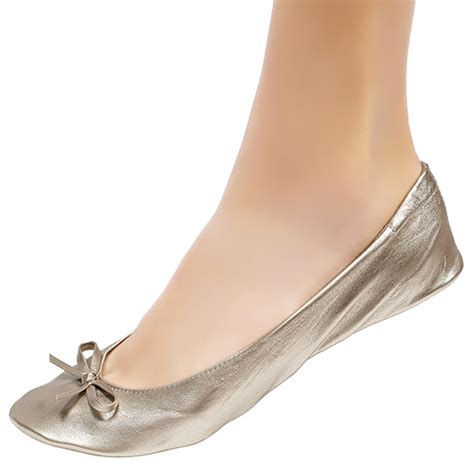 Gold Flats For Wedding by Gold Foldable Ballet Flats For Wedding Cinderollies