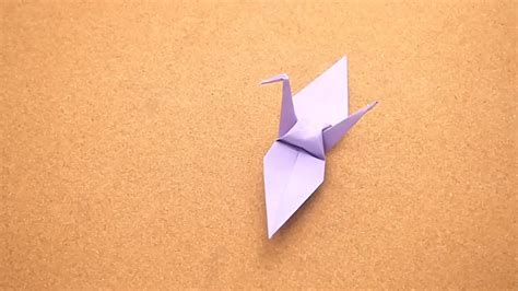 Folding A Paper Crane - how to fold a paper crane with pictures wikihow