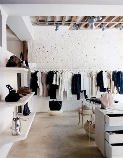 Opening A Home Decor Boutique Striking And Stylish Minimalist Closets Comfydwelling