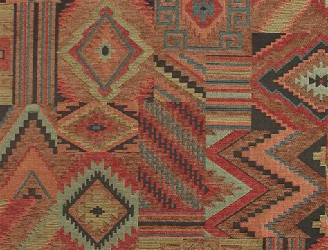 Western Upholstery by American Southwestern Upholstery Fabric Woven