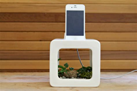 Diy Wireless Phone Charging Station christopher locke s recycled trumpet blows out phone tunes
