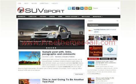 theme wordpress jquery sport cars jquery free wordpress theme download