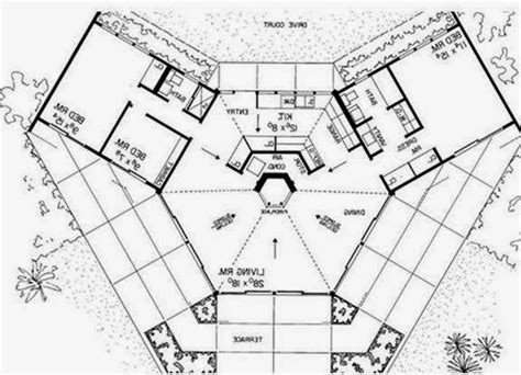 house bio octagon earth ship style house plans