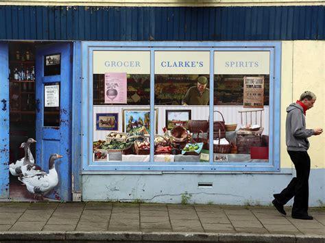 bushmills ireland paints empty storefronts for tourism