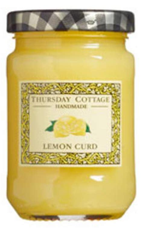 thursday cottage lemon curd lemon curd in 310g jar from thursday cottage
