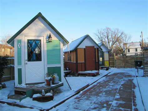 what madison s tiny house community for the homeless looks like wuwm