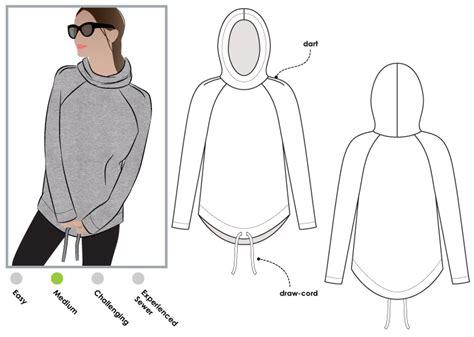 sweatshirt pattern free style arc josie hoodie sew tessuti blog