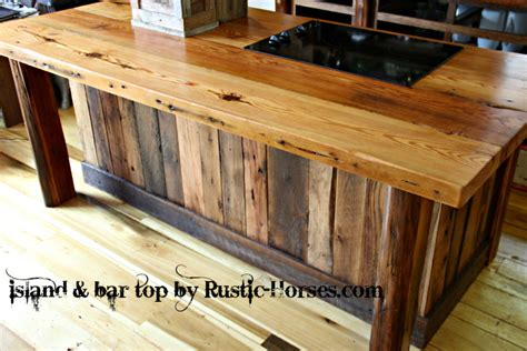 log bar tops rustic horses com rustic furniture barnwood barn wood