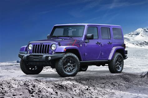 jeep xtreme the 2016 jeep wrangler backcountry gets xtreme purple