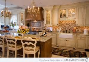 Best Colors For Rustic Kitchen Cabinets - 15 fabulous french country kitchen designs home design lover