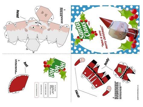 Santa Claus Paper Craft - primary writing paper dear santa new calendar template site