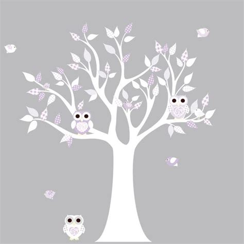 owl and tree wall stickers wall decal sticker wall decals and vinyl wall decals on