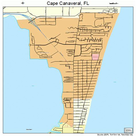 port canaveral map florida cape canaveral florida map 1210250