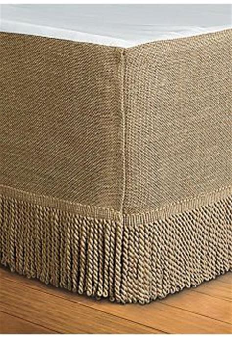 bedskirt alternative home accents 174 burlap king bedskirt 78 in x 80 in 15 in