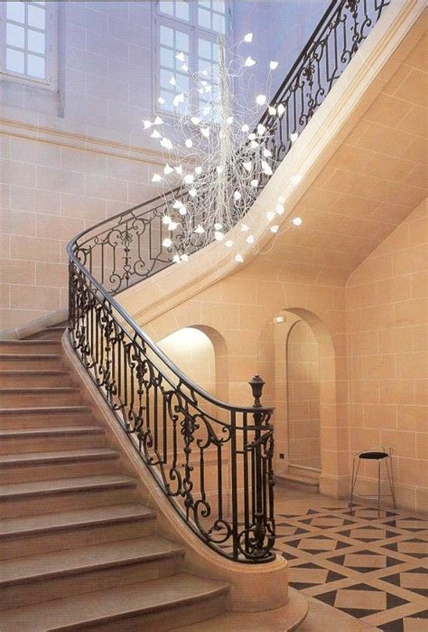 Stairwell Chandeliers Jogg Twisted Arm Chandelier For Large Spaces Great In Large Stairwells Lighting