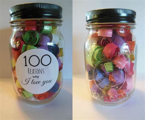 themes love jar 100 reasons why i love you jar crafts diy pinterest