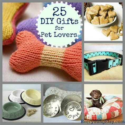 25 diy gifts for pet