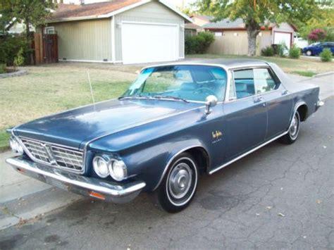 1963 Chrysler New Yorker by Buy Used 1963 Chrysler New Yorker Salon 1 Of 11 Registered