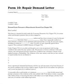Contract Demand Letter Sle Demand Letter Format Letter Idea 2018