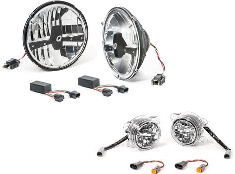 jeep wrangler jk led fog lights quadratec led headl upgrade conversion led fog lights