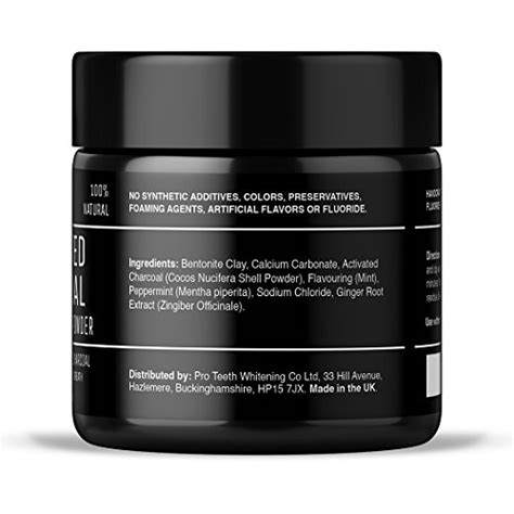 activated charcoal teeth whitening powder pure beauty