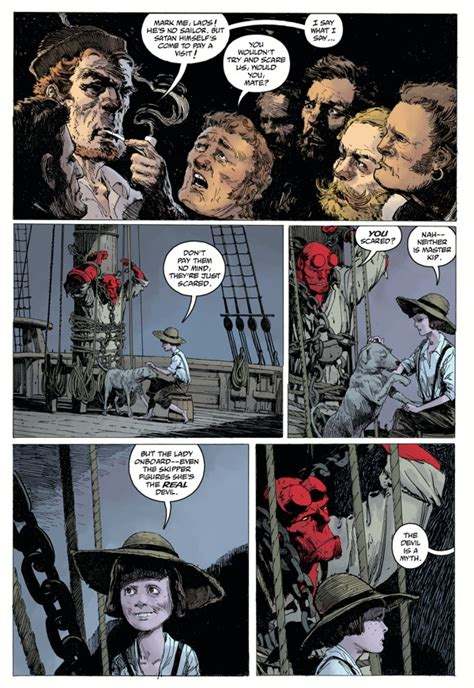 hellboy into the silent b06xkfwzcw hellboy into the silent sea hc profile dark horse comics