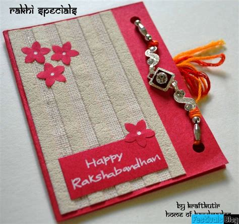 Handmade Greeting Cards For Raksha Bandhan - happy raksha bandhan 2017 messages quotes wishes