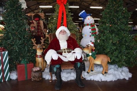 chuck hafners christmas trees santa claus at chuck s chuck hafner s farmers market garden center syracuse ny