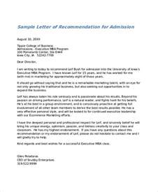 Service Academy Letter Of Recommendation Exle Letter Of Recommendation For Admission To College Letters Of Re Mendation For Graduate School