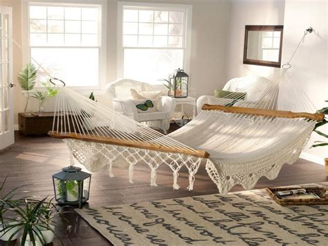 hammock beds for bedrooms how to use an interior hammock in your bedroom