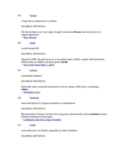 rugged sentence vocab 1000 academic words