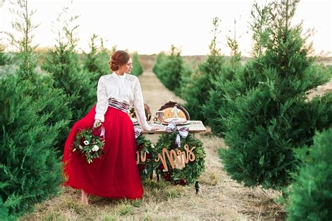 christmas tree farm happy valleyvadelaide tree farm wedding ideas whimsical weddings