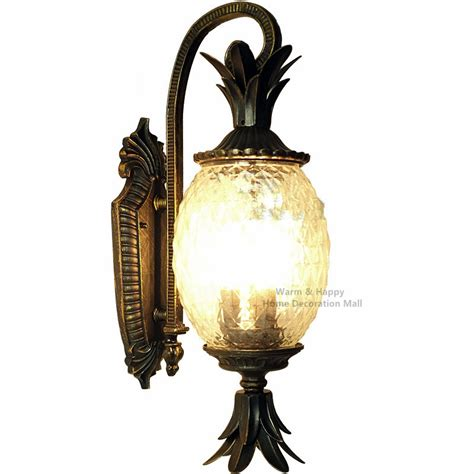 Pineapple Outdoor Light Fixtures Popular Pineapple Outdoor Lighting Buy Cheap Pineapple Outdoor Lighting Lots From China